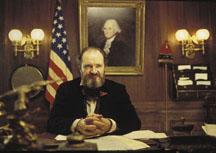 """Jim Broadbent as """"Boss"""" Tweed in the movie Gangs of New York."""